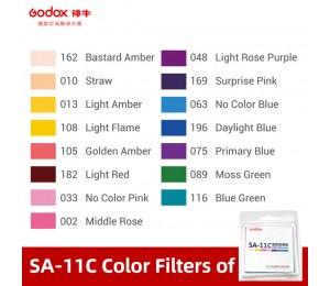 Godox SA-11C Farbeffektfilter für S30 für kreativere Belichtung.