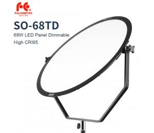Falcon Eyes SO-68TD 68W LED-Panel Dimmbar Hoch CRI95 3000-5600K Beleuchtung Video Film Studio Fotografie Dauerlicht