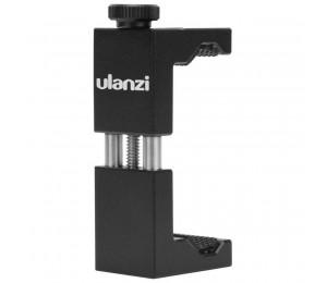 """Ulanzi ST-02 Universal Telefon Halter 1/4 """"Schraube Einstellbar Telefon Clamp Clip mit Heißer Schuh für Stativ Selfie Smartphone Halter"""