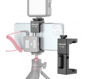Ulanzi ST-08 Rode Wireless Go Stativ Telefonhalterung mit kaltem Schuh für Mikrofon LED Video Licht Vlog Stativhalterung