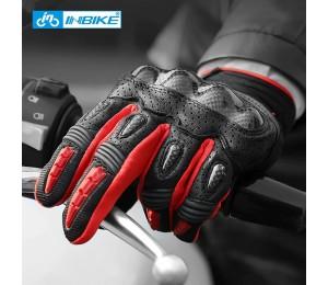 INBIKE Pro Motorrad Handschuhe Männer Schützen Hände Voll Finger Bike Handschuhe