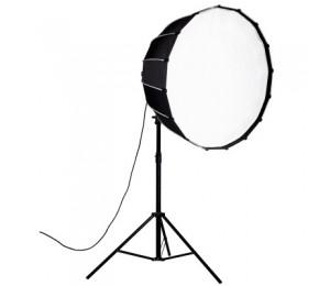 Nanlite 60cm 90cm 120cm Softbox Regenschirm mit Bughalterung Runde Softbox für 60 60B 200 200w 300w 500w Fotografie Licht