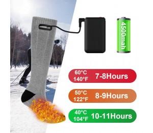 Heizung Socke Drei Modi Elastische Komfortable Wasserdicht Elektrische Warme Socken Set