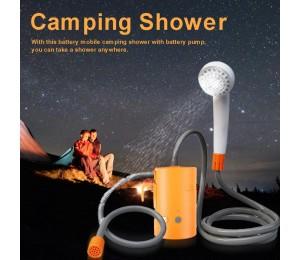 Elektrische Dusche Tragbaren Akku Mobile Bade Pumpe Outdoor Camping Dusche Für Wasser Blume Fahrzeug Reinigung
