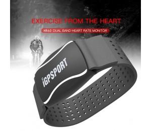 IGPSPORT Arm Photoelektrische Herz Rate Monitor LED Licht Warnung HR60 HR Monitor Unterstützung Fahrrad Computer Mobile APP