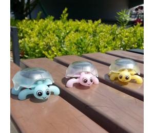 Solar Mini Creeper Turtle Kinder Früherziehung Spielzeug Geschenke für Kinder