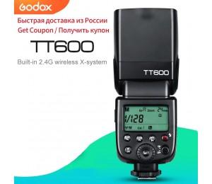Godox TT600 2,4G Wireless GN60 Master/Slave Kamera Flash Speedlite für Canon Nikon Sony Pentax Olympus Fuji Lumix