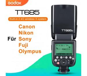 Godox TT685 TT685C TT685N TT685S TT685F TT685O TTL HSS Kamera Flash Speedlite für Canon Nikon Sony Fuji Olympus Kamera