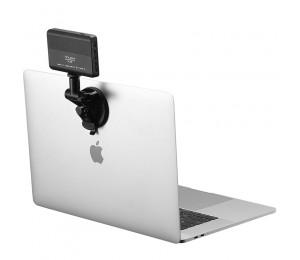 VIJIM TPU Saughalterung VL120 3200K-6500K LED-Videoleuchte Vlog-Taschenleuchte Einstellbare Farbtemperatur Flash Studio Photo