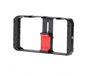 Ulanzi U-Rig Pro Smartphone Video Rig w 3 Schuh Halterungen Filmausrüstung Fall Handheld Telefon Video Stabilisator Grip Stativ halterung Ständer