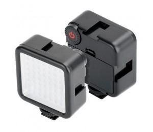 Ulanzi W49 LED Tasche auf Kamera Mini LED Video Licht Fotografie Licht für Gopro DJI Osmo Tasche Nikon Sony DSLR Kameras smart Handys