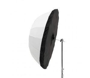Godox UB-165D 165cm Weiß Parabolischen Reflektierende Transparent Weiche Umbrella Studio Licht Regenschirm mit Schwarz Silber Diffusor Abdeckung