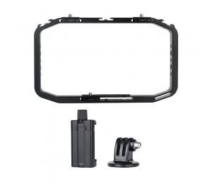 Ulanzi M-rig Alle in 1 Aluminium Handheld Vlog Stabilisator Setup Video Rig w Mikrofon Kalten Schuh Halterung für iPhone Fillmakers