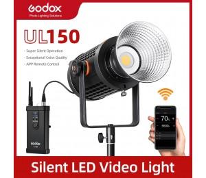 Godox 150W UL150 UL-150 5600K Farbe Temperatur Stille Bowens Berg LED Video Licht Fernbedienung und App Unterstützung