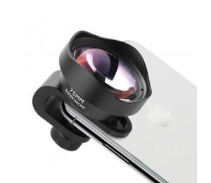 Ulanzi 75MM 10X Super Makro Objektiv Telefon Kamera Objektiv 17MM Gewinde HD Telefon Objektiv für iPhone Piexl Huawei ein Plus Xiaomi