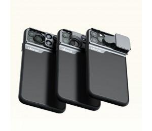 Ulanzi Telefon Fall 3 in 1 Telefon Objektiv CPL Filter/10X/20X Makro/Fisheye/2X Teleobjektiv für iPhone 11 / iPhone 11 pro / iPhone 11 Pro max