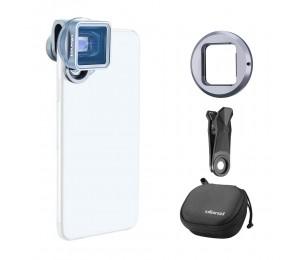 Ulanzi 1.33XT Universeller anamorphotischer Telefon-Filmobjektiv-Breitbildschirm mit 52-mm-Filteradapter Kompatibel mit iPhone 11 / iPhone 11 Pro