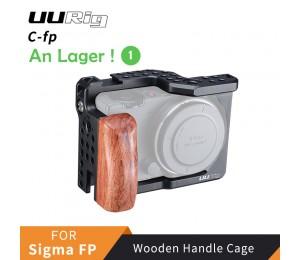 UURig C-fp Exklusive Metall Käfig Für Sigma FP Bewaldeten Griff Rig Kalten Schuh Halterung für Mikrofon LED Licht DSRL Kamera Zubehör