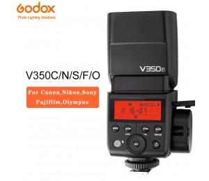 Godox V350 V350-C/N/S/O/F TTL Drahtlose Kamera Flash Speedlite 1/8000 s HSS für Canon Nikon Sony Fujifilm Lumix Olympus