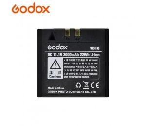 Godox VB18 DC 11,1 V 2000mAh 22Wh Lithium-ionen Li-Ion Batterie für Ving V850 V860IIC V860IIN V860II Flash speedlite VB-18 Batterie