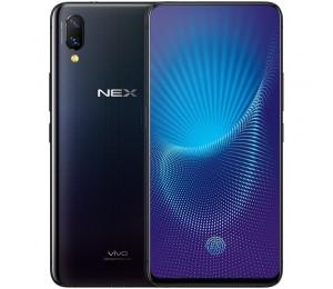 vivo NEX Android 8.1 Qualcomm SDM845 Octa-core 6.59 -inch Super AMOLED capacitive touchscreen Smartphone 8GB+128GB Schwarz Farbe