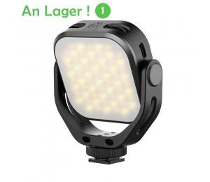 Ulanzi Vijim VL66 Einstellbare LED Video Licht mit 360 Rotation Halterung Halterung Rechargable DSLR SLR Mobile Tragbare Füllen Licht
