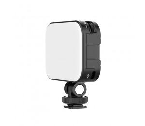 Ulanzi Vijim VL-100C Mini Weiche LED Vlog Licht Einstellbar Auf Kamera Füllen Licht 2500K-6500K Dimmbare Licht live Youtube Lampe