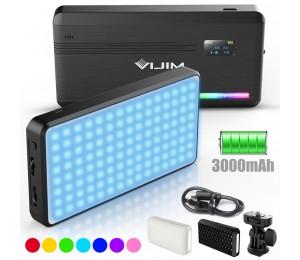 VIJIM VL196 RGB LED Video Licht 2500K 9000K Dimmbare Füllen Licht DSLR Smartphone Vlog Licht Lampe Fotografie Beleuchtung kit