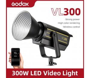 Godox VL300 VL-300 300W 5600K Weiß Version LED-Videoleuchte Dauerausgang Blitzlicht Bowens Mount Studio Light APP-Unterstützung