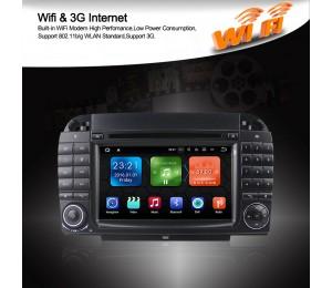 Android 8.1 Quad-core 2G RAM 16G flash Car DVD Player Radio für W220 W215 gps Stereo with GPS 3G wifi bluetooth