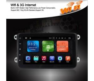 Android 8.1 Quad-Core 2 GB RAM 16GB flash Auto DVD für VM Magotan Passat Jetta Golf Tiguan Touran Seat Skoda