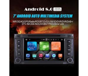 2din Android 8.0 Octa-core 4 GB RAM 32GB Autoradio / Multimedia Für VW/Volkswagen/Touareg/Transporter T5 Mit Canbus Wifi GPS Navigation Bluetooth Radio