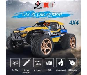 Wltoys 12402a 1/12 4WD 2,4G RC Auto Fahrzeug Modelle High Speed 45 km/h Fernbedienung Auto Erwachsene Off-straße Lkw Fahrzeug Spielzeug 12402-a