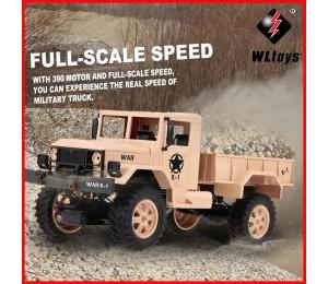 WLtoys 124302 1:12 RC Car 2,4 GHz 4WD Volle-Skala Geschwindigkeit 1200G Last Military Off-road RC auto für Anfänger Spielzeug für Kinder