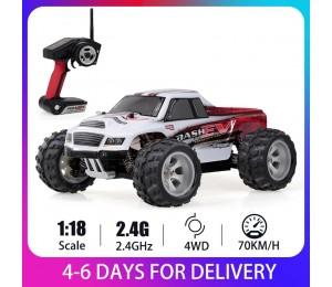 WLtoys A979-B 1/18 Racing Auto 2,4 GHz 4WD RC Auto 70 KM/h High Speed Hohe Qualität Große Fuß lkw RC Crawler Elektrische RTR Geschenk Spielzeug