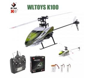 Wltoys XK K100 RC Drone 2,4G 6CH 3D 6G Modus Bürstenlosen Motor Fernbedienung RC Hubschrauber Quadcopter für Kinder Geschenk Spielzeug