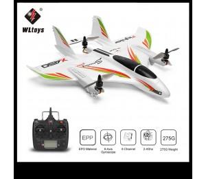 WLtoys XK X450 2,4G 6CH 3D/6G RC Flugzeug Bürstenlosen Motor Vertikale Nehmen-off LED Licht RC Segelflugzeug Fixed Wing RC Flugzeug RTF