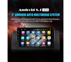 Android 8.1 Quad-core 2G RAM 16G flash Car DVD Player Radio für BMW