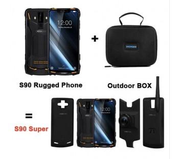 DOOGEE S90 Smartphone Helio P60 MTK6771 6,18 zoll 6GB 128GB + Super Vision