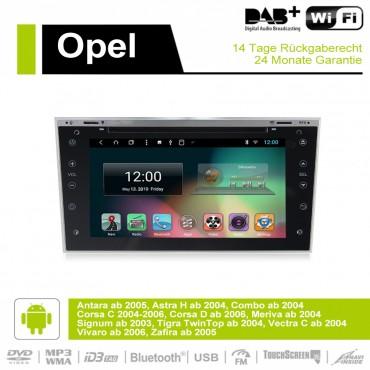 7 Zoll Android 9.0 Autoradio / Multimedia 2GB RAM 16GB ROM für Opel Astra H Vectra Corsa Zafira Antara Combo Meriva Signum
