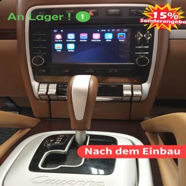 7 Zoll Android 10.0  Autoradio / Multimedia 4GB RAM 64GB ROM Für Porsche Cayenne(2003-2010) Built-in Carplay / Android Auto