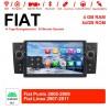 7 Zoll Android 10.0 Autoradio / Multimedia 4GB RAM 64GB ROM Für Fiat Punto Linea Mit WiFi NAVI Bluetooth USB