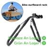 NEUE 8 zoll bike Surfbrett rack 25-32mm Fahrrad halter Fahrrad Surfen Träger Montieren Zu Sitz Beiträge Wakeboard fahrrad zubehör