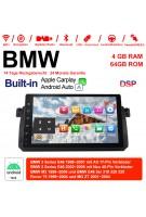 9 Zoll Android 10.0  Autoradio / Multimedia 4GB RAM 64GB ROM Für BMW 3 Series E46 BMW M3 Rover 75 Built-in CarPlay / Android Auto