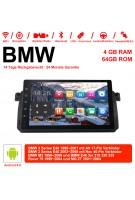 9 Zoll Android 9.0 Autoradio / Multimedia 4GB RAM 64GB ROM Für BMW 3 Series E46 BMW M3 Rover 75
