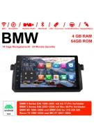 9 Zoll Android 10.0 Autoradio / Multimedia 4GB RAM 64GB ROM Für BMW 3 Series E46 BMW M3 Rover 75