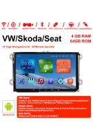 9 Zoll Android 9.0 Autoradio / Multimedia 4GB RAM 64GB ROM Für VW Magotan,Passat,Jetta,Golf,Tiguan,Touran,Seat,Skoda MIT dem verbauten DSP ( Digital Sound Prozessor ) und Bluetooth 5.0