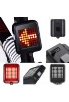 USB Aufladen Intelligente Fahrrad Licht Rücklicht Led Smart Bike Fahrtrichtungsanzeiger Rücklicht
