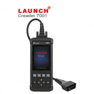 NEU Launch DIY Code Reader CReader 7001 Full OBD2 Scanner/Scan Tool with Oil Resets Service, EPB/SAS/BMS/DPF/ABS Bleeding optional