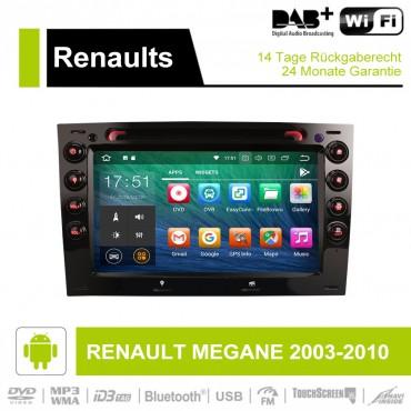 7 Zoll Android 9.0 Autoradio / Multimedia 4GB RAM 32GB ROM für   RENAULT MEGANE 2003-2010